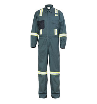 US Canada Style Fire retardant Workwear Coverall for oil and gas