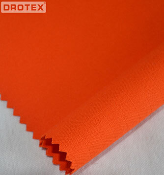 350gsm Cotton Polyester FR Antistatic Anti Acid Stain Fabric