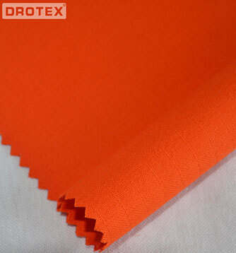 320gsm 100% Cotton Flame retardant Antistatic Fabric
